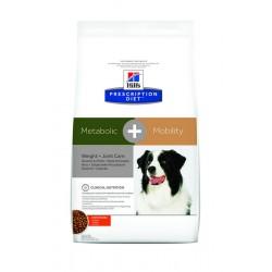 Hill's Prescription Diet Metabolic + Mobility Weight + Joint Care Τροφή Για Σκύλους Με Κοτόπουλο 12kg