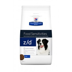 Hill's Prescription Diet z/d Food Sensitivities Τροφή Για Σκύλους 10kg