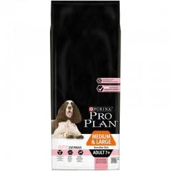 Pro Plan Medium & Large Adult 7+ Sensitive Skin with Optiderma 14kg