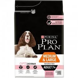 Pro Plan Medium & Large Adult 7+ Sensitive Skin with Optiderma 3kg