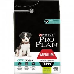 Pro Plan Puppy Medium Sensitive Digestion with Optidigest 3kg