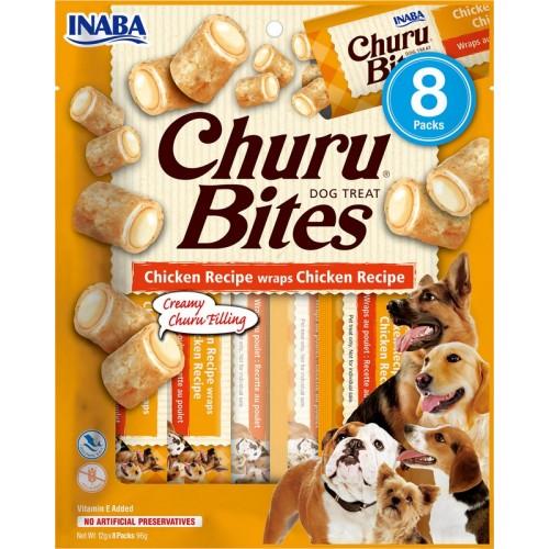 Λιχουδιά Inaba Churu Bites Chicken 8 τεμ