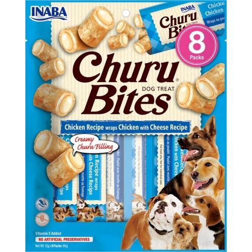 Λιχουδιά Inaba Churu Bites Chicken and Cheese  8 τεμ