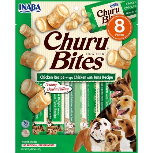 Λιχουδιά Inaba Churu Bites Chicken and Tuna 8 τεμ