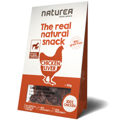Naturea grain free chicken liver bites