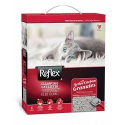 Άμμος Γάτας Reflex Clumping Cat Litter Activated Carbon Granules 6lt