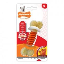 Παιχνίδι Σκύλου Nylabone Dental Chew Bacon Small