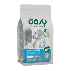 Oasy Puppy All Breeds Lamp 12kg
