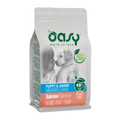 Oasy Puppy All Breeds Salmon 12kg