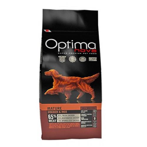 Optima Nova Mature Chicken-Rice 12kg