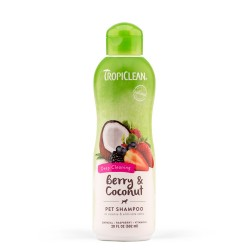 Tropiclean Berry-Coconut Deep Cleaning Shampoo 355ml