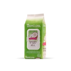 Tropiclean Υγρά μαντηλάκια 100τεμ