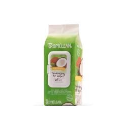 Tropiclean Υγρά μαντηλάκια Υποαλεργικά 100τεμ