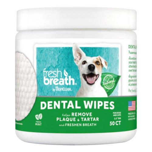 Οδοντική Προστασία Dental Wipes 50τμχ