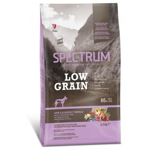 Ξηρά Τροφή Spectrum Low Grain Adult Medium-Large Lamb-Blueberry 12kg