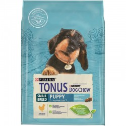 Tonus Dog Chow Small Breed Puppy Chicken 2.5kg