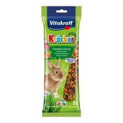 Vitacraft Kracker Για Κουνέλια με λαχανικά και πατζάρι 2τεμ